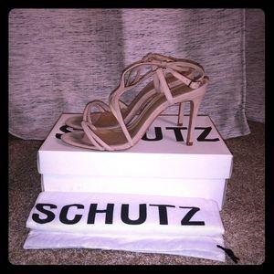 Schultz Tanino II Suede Heeled Sandals